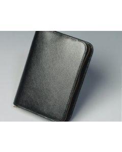 Bibelhülle Rindleder 15,7x10,2x3,1 - schwarz