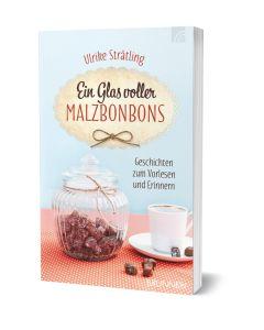 Ein Glas voller Malzbonbons