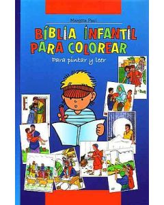 Kinder-Mal-Bibel - Spanisch