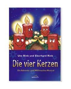 Die vier Kerzen - Liederheft