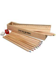 Malset - Holzbox