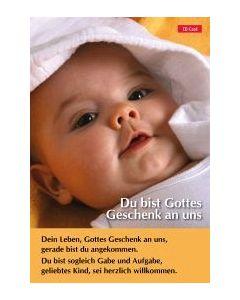 CD-Card: Du bist Gottes Geschenk an uns