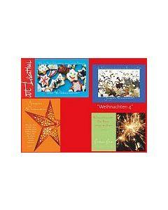 Faltkarten-Set Weihnachten 4