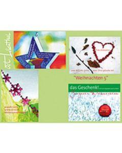 Faltkarten-Set Weihnachten 5