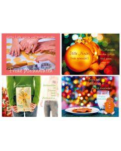 Faltkarten-Set Weihnachten 6