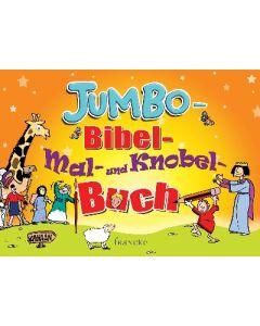 Jumbo-Bibel-Mal- und Knobelbuch