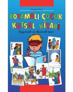Kinder-Mal-Bibel - Türkisch