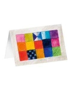 """Kunstkarten """"Farbfelder 1"""""""