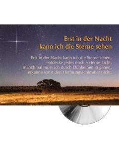 CD-Card: Erst in der Nacht kann ich die Sterne sehen