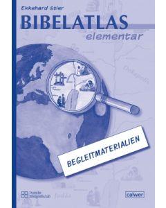 Bibelatlas elementar - Begleitmaterialien