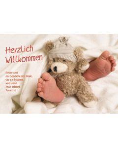 Faltkarte: Kinder sind ein Geschenk - Geburt