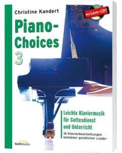 Piano-Choices 3, Christine Kandert
