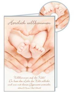 CD-Card: Herzlich Willkommen - Geburt
