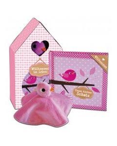 Willkommen im Leben - Geschenkset rosa