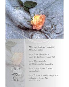 Faltkarte: Mögest du in dieser Trauer-Zeit - Trauer