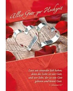 Faltkarte: Alles Gute zur Hochzeit