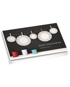 """Postkartenbuch """"GAST:GESCHENK"""""""