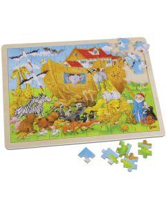 """Holzpuzzle """"Einzug in die Arche Noah"""""""