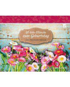 26 liebe Wünsche zum Geburtstag - Tischaufsteller