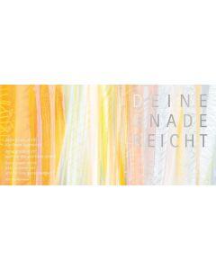 """Kunstpostkarten-Set Motiv """"Deine Gnade reicht"""" - 12Stk."""
