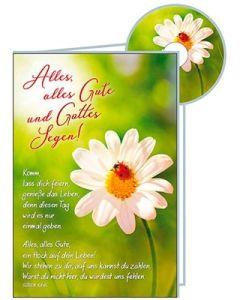 CD-Card: Alles, alles Gute und Gottes Segen - Geburtstag