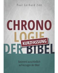 Chronologie der Bibel - Kurzfassung