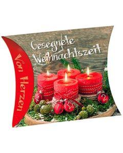 """Schafmilchseife Herz """"Gesegnete Weihnachtszeit"""""""