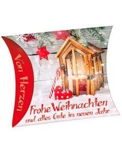 """Schafmilchseife Herz """"Frohe Weihnachten und alles Gute"""""""
