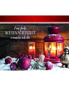 Eine frohe Weihnachtszeit wünsch ich dir - Aufstellbuch