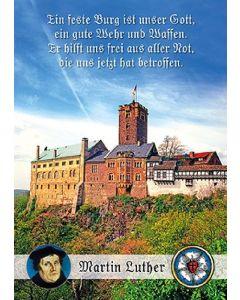 Postkarten: Ein feste Burg - 12 Stück