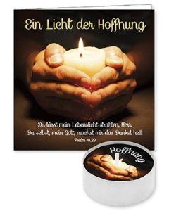 """Lichtgruß """"Ein Licht der Hoffnung"""""""