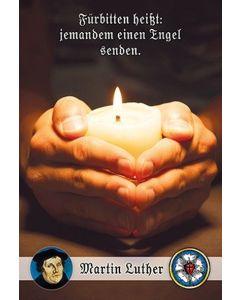 Faltkarte: Fürbitten heißt - Trauer
