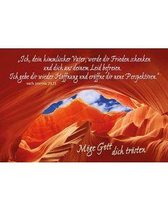 Faltkarte: Ich, dein himmlischer Vater - Trauer