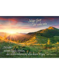 Postkarten: Ich habe meinen Engeln befohlen, 12 Stück