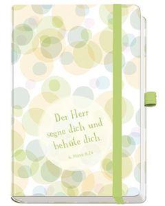 Notizbuch - Der Herr segne dich und behüte dich