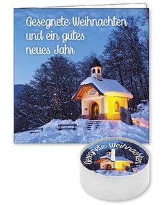 """Lichtgruß """"Gesegnete Weihnachten und ein gutes neues Jahr"""""""