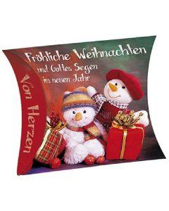 """Schafmilchseife Herz """"Fröhliche Weihnachten"""""""