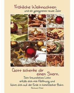 Faltkarte: Fröhliche Weihnachtstage