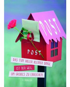 "Postkartenserie ""Post"" - 12 Stück"