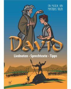 David - Lieder- und Regieheft
