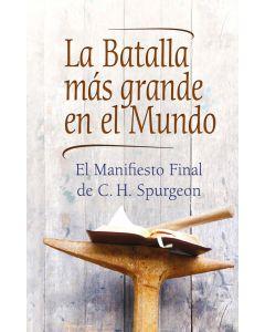 La Batalla más grande en el Mundo - spanisch