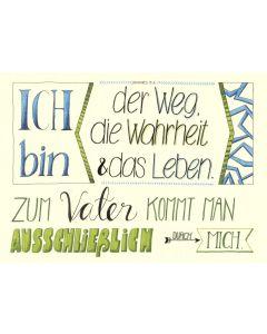 """Poster """"Der Weg, die Wahrheit"""" - A3"""