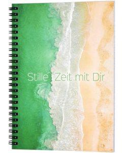 Stille Zeit mit Dir - Notizbuch (Strand)