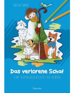 ARTIKELNUMMER: 332029000  ISBN/EAN: 9783963620294 Das verlorene Schaf - Malbuch Eine Ausmalgeschichte für Kinder Katja Hogh