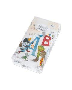 """Papiertaschentücher """"ABC"""""""