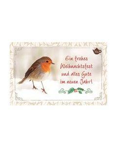 Tee-Postkarte - Ein frohes Weihnachtsfest...