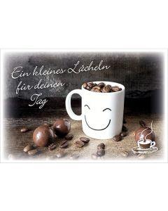 """Coffee to send """"Ein kleines Lächeln für deinen Tag"""""""