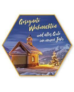 """Schafmilchseife Stern """"Gesegnete Weihnachten"""""""