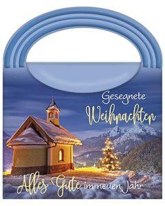 Wellness-Tasche: Gesegnete Weihnachten