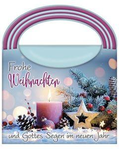 Wellness-Tasche: Frohe Weihnachten